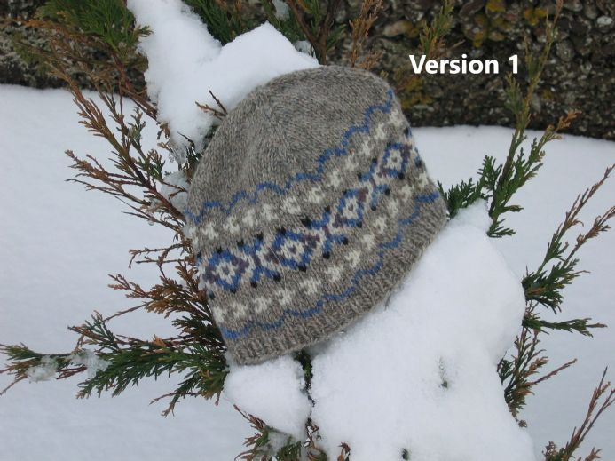 Fair Isle Toorie Version 1 and 2